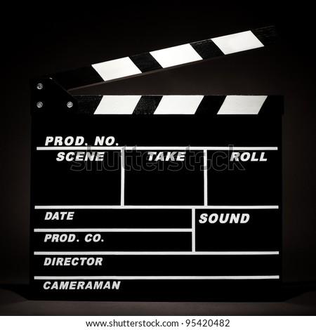 blank film slate - photo #5