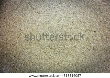 Blank industrial paper surface