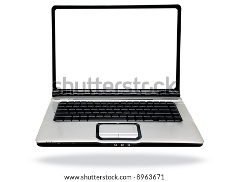 laptop computer pictures. laptop computer over white