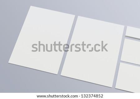 blank company letterhead