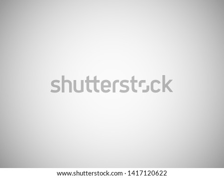 Blank light grey blurred background with radial gradient. Studio room backdrop. vignette photo effect. White gray empty template gradient illustration