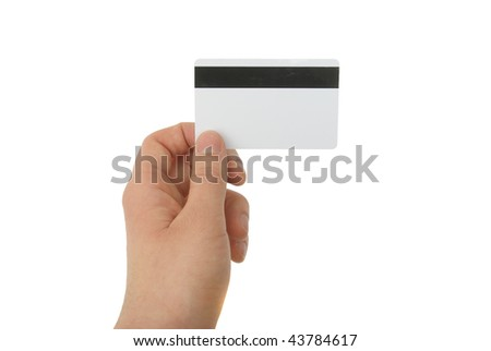 blank magnetic card