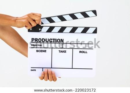 blank film slate - photo #13