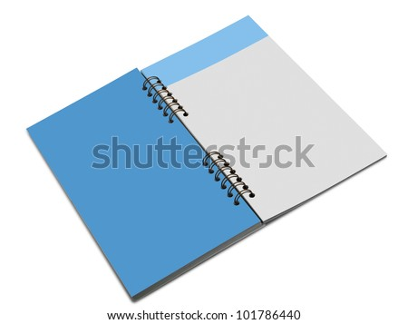 Blank Note Book For write anythings in it. There is a path for each sheet
