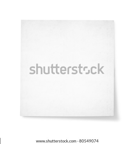 blank note paper for text