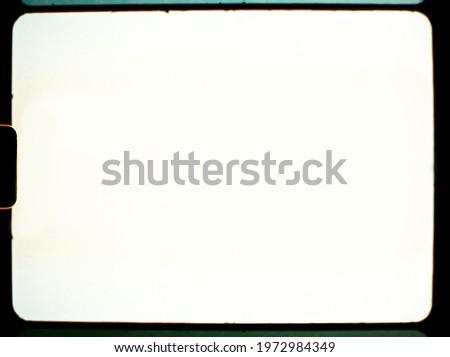 blank or empty super 8 film frame, vintage film photo placeholder.