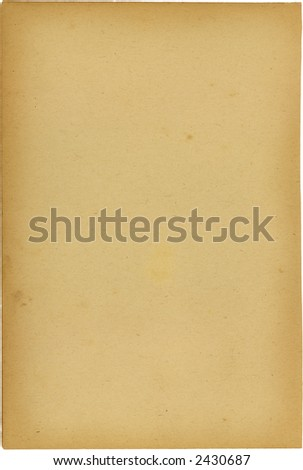 Blank page from a late 1800 book