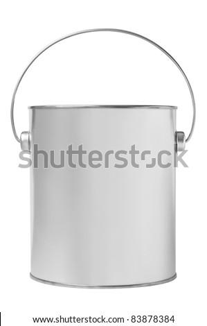 Blank paint bucket