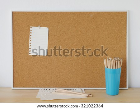 Popular Free Pin Paper on cork board for text and background ...