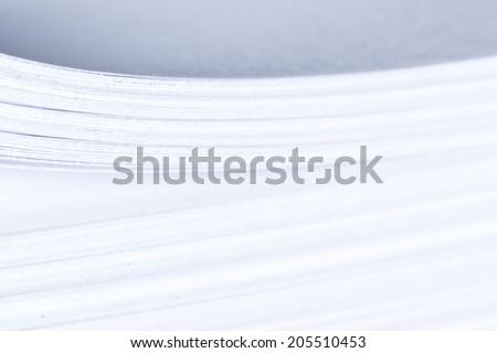 Blank paper stack Zdjęcia stock ©