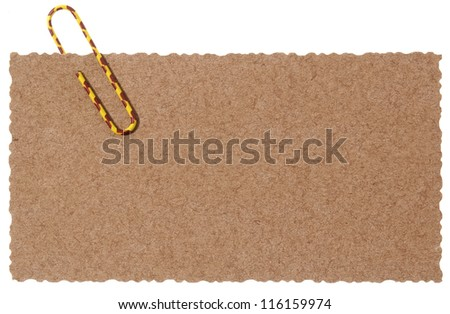 Blank papyrus paper - stock photo