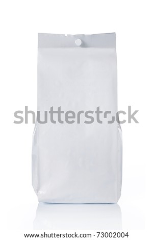blank plastic food pack, ready for your design