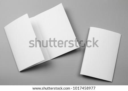 blank portrait mock up paper....