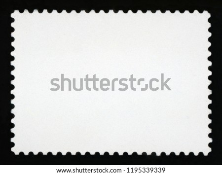 Blank postage stamp background  #1195339339