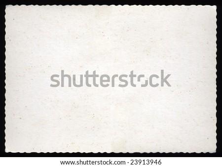 Blank postcard brown paper background