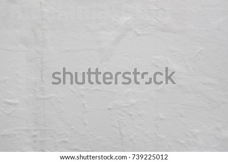 Blank poster creased texture #739225012