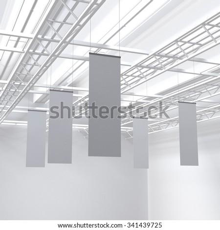 blank poster hanger template