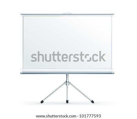 Blank Projection screen, bitmap copy