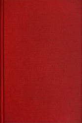 Blank red book with linen texture