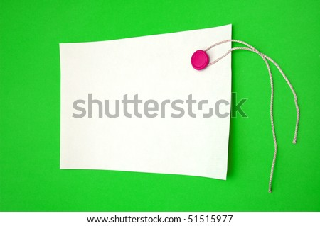 Blank scroll with seal stamper