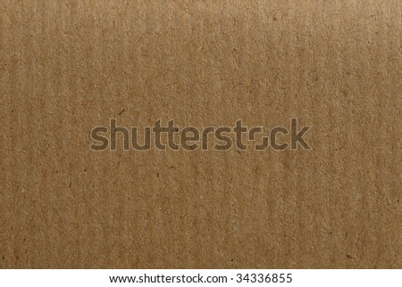Blank sheet of brown paper useful as a background