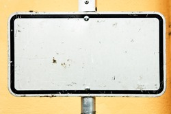 blank sign - nice background with space for text