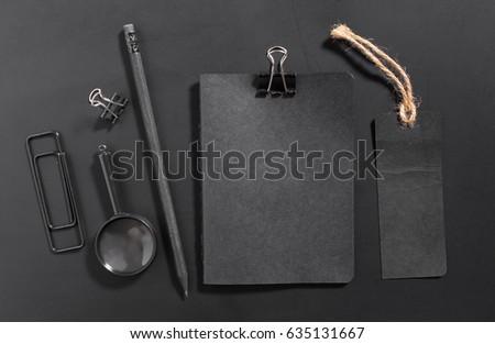 Blank stationery set. Corporate identity template #635131667