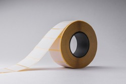 Blank sticky label  roll for thermal transfer printing
