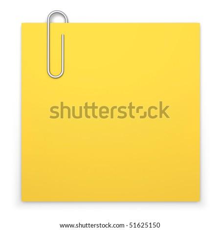 Blank Sticky Note Clip Art Blank Sticky Note With Paper