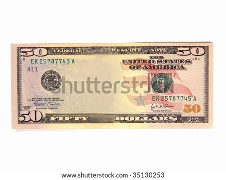 Blank US Dollar Bill (Add your own picture)