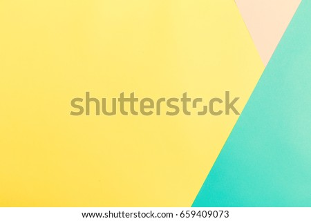 Blank vibrant pastel colored split tone background