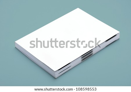 Blank White Book