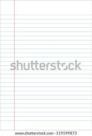 Blue line paper
