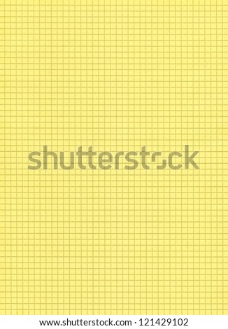 Blank yellow checkered page