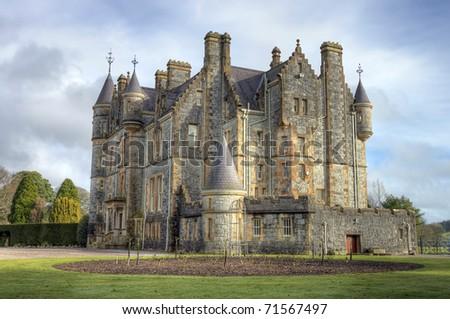 Blarney House, Ireland.