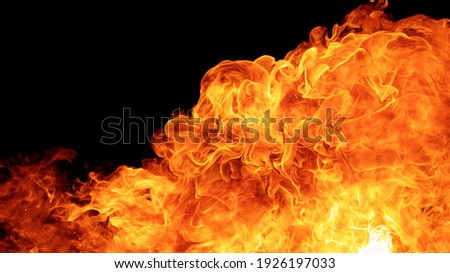 blaze fire flame conflagration texture background in full hd aspect ratio Foto stock ©