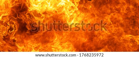 blaze fire flame conflagration texture for banner background Сток-фото ©