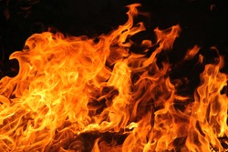blaze fire flame texture background. fire flame background