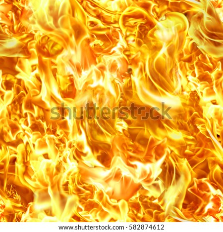 blaze fire flame texture background.High-resolution seamless texture #582874612
