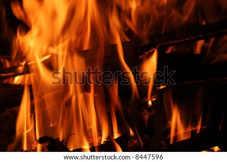 Blazing Fire Blazing Fire Background