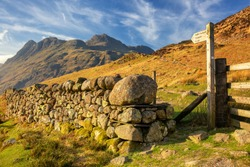 Blea Tarn is one of the easiest to visit, with a convenient car park on the Little Langdale to Great Langdale road. It has a backdrop of the Langdale Pikes, being at the very heart of wild Lakeland.