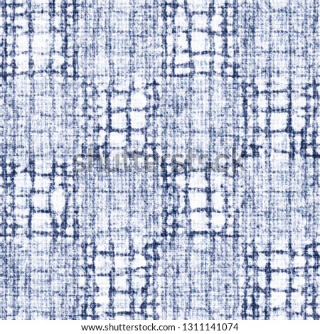 Bleached Canvas Effect Intricate Stroke Textured Background. Seamless Pattern. #1311141074
