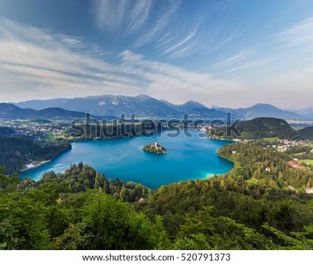 Stock Photo Bled Lake, Slovenia, Europe