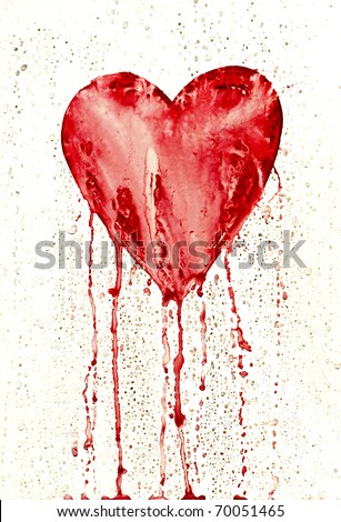 bleeding heart   symbol of love