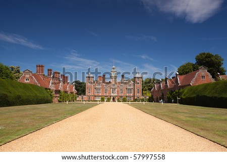 Blickling Hall - a magnificent Jacobean house, park and garden in Norfolk.