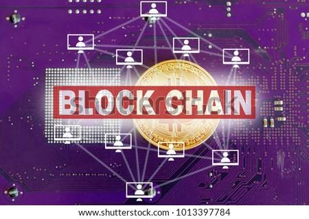 block chain concept #1013397784