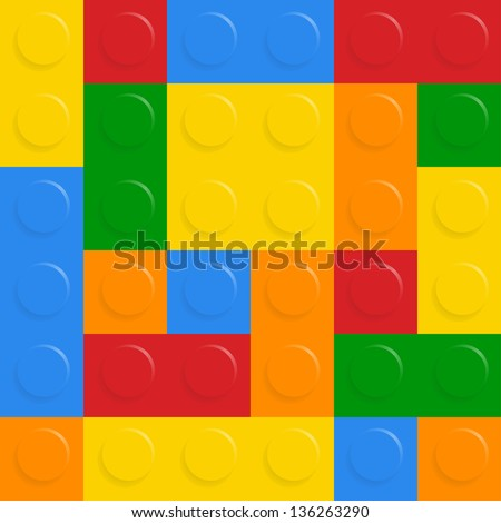 Block on white background. See also vector version