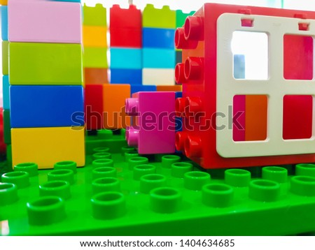 block pieces can be assembled and connected in many ways, to construct objects; vehicles, and buildings. Anything constructed can then be taken apart again, and the pieces used to make other object.