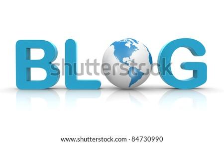 blog 3d text