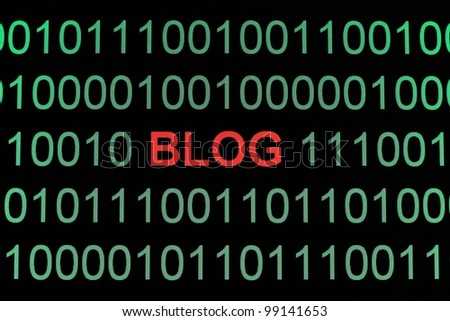 Blog on binary data
